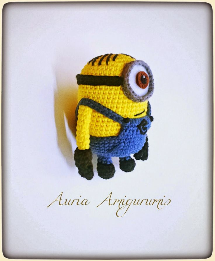 Amigurumi Minion!! (Versión mini)