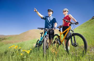 Say good bye to the stationary bike hello to riding a real bike in the great outdoors. via @SparkPeople