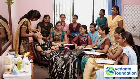 Our Beautician programme provides the students adequate knowledge to facilitate livelihood opportunities at the end of the training programme. #India #Beauty #Beautician #Women #Empowerment