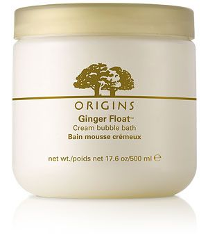 Origins Ginger Float Bubble Bath, so warming on cold winter days :-)