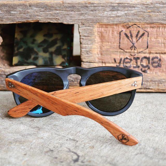 The ||illuka|| in Matt black X stringy bark timber from our range of salvaged #australian #hardwoods .... #handcrafted #bespoke #eyewear #thanks