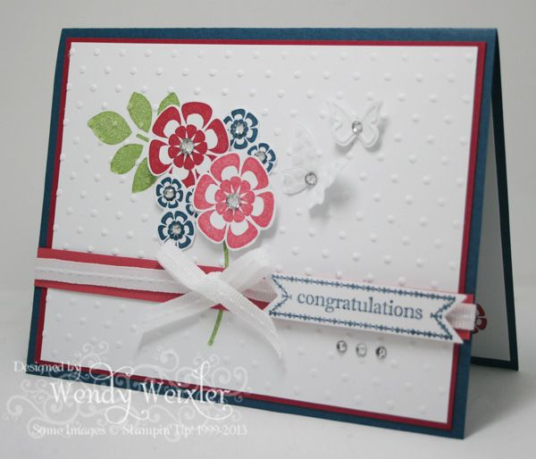 Wickedly Wonderful CreationsCrafts Ideas, Cards Ideas, Su Betsy'S, Betsy'S Blossoms, Cards Su, Su Betsy Blossoms, Wmw Betsy'S