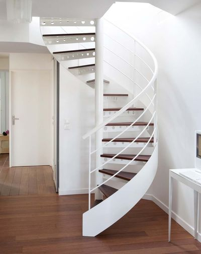 112 best escaliers images on Pinterest | Stairs, Railings and ...