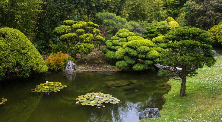 Японский сад Портленд Орегон США.