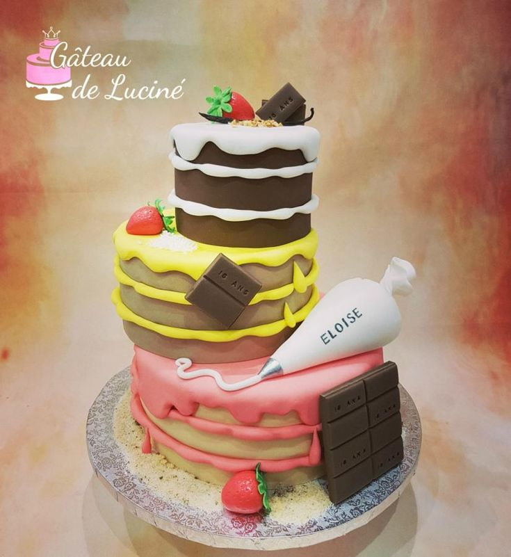 Fondant sweet cake ! by Gâteau de Luciné