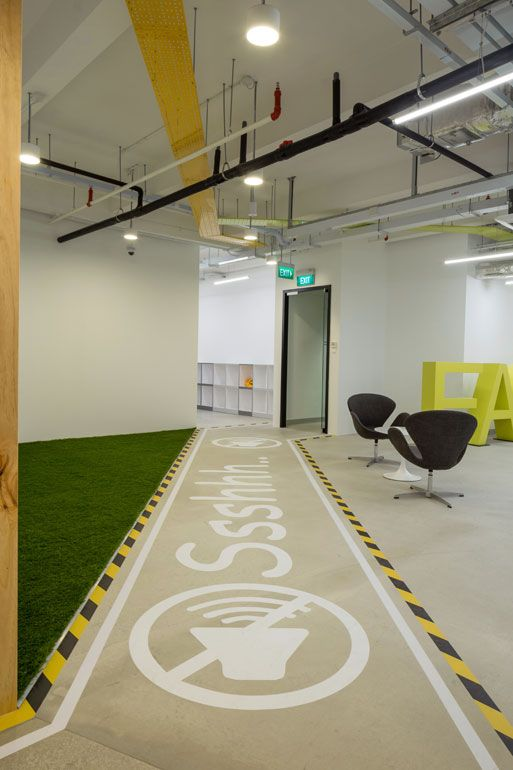 Infocomm Investment HQ Office Innovative Office Designs in Singapore Attract Global Companies Seeking to Establish a Presence in Asia