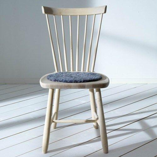 Lilla Åland stol - Lilla Åland stol - ek ljus mattlack