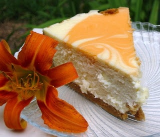 Recipe for Orange Creamsicle Cheesecake
