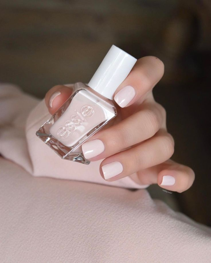 Essie Gel Couture Ballet-Nudes Collection... LACE ME UP  is a misty rose pink.