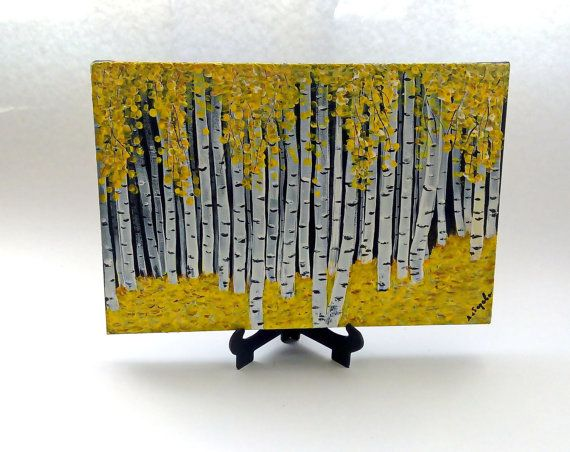 Original painting Miniature painting Acrylic от KseniaArtDesign