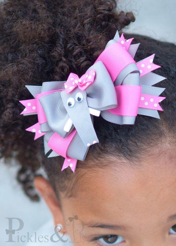 Elephant Hair Bow