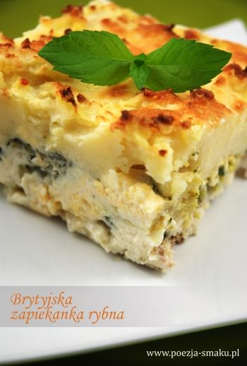 Zapiekanka rybna (Fish Pie - recipe in Polish)