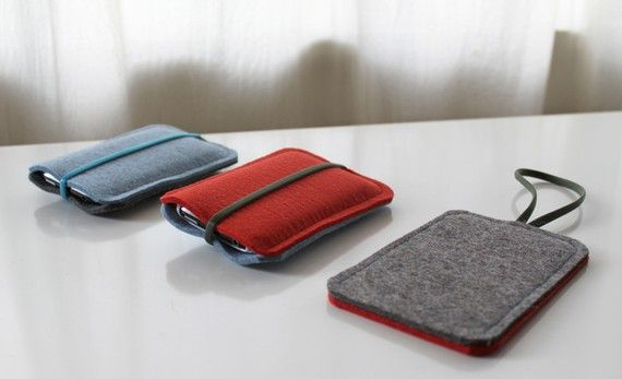 diy felt iphone case