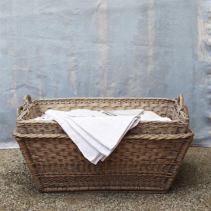 vintage french laundry basket: French Baskets, Laundry Baskets I, Laundry Baskets Market, Basket, Box, French Laundry, Baskets 2