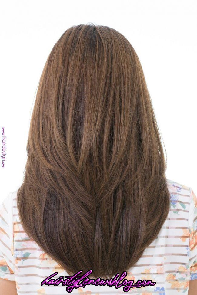 Haircut Ideas V 2020 G Dlinnye Mnogoslojnye Pricheski Cveta