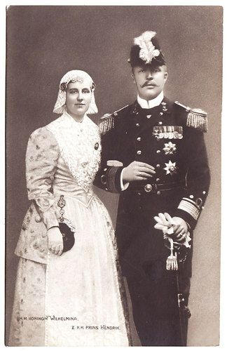 Wihelmina and Henry of the Netherlands
