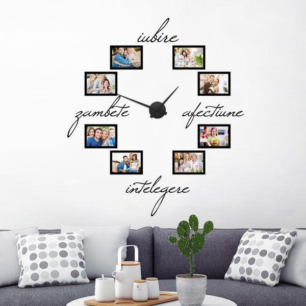 Uite un mod de a urmari cu placere trecerea timpului.   Ti-ai dori acasa un astfel de ceas unicat? Oare este mai potrivit ca si cadou pentru cei mai buni prieteni?    Detalii despre ceas: https://www.tiparo.ro/stickere/stickere-de-perete/ceas-de-perete-sentimente