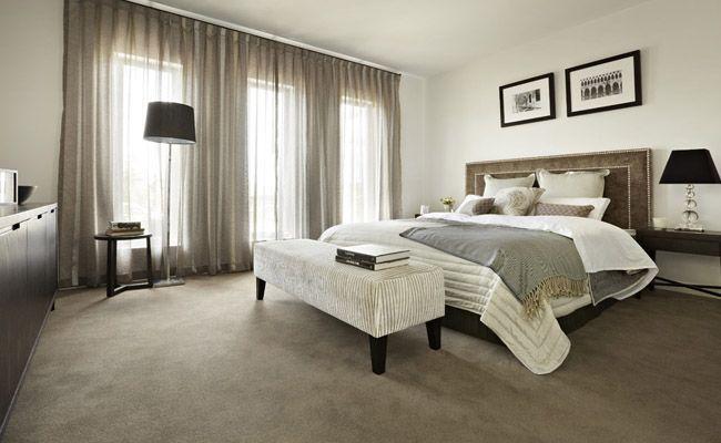 Crown 35 master suite.