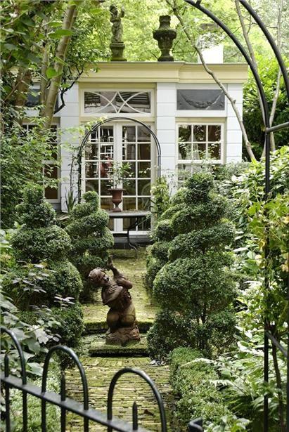 Orangerie in the garden