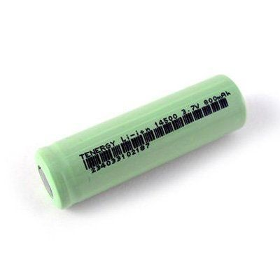 Li-Ion 14500 AA Cylindrical Rechargeable Battery 800mAh by TNGY. $3.95. These Li-Ion AA cells have a higher energy density and lower weight than other rechargeable batteries. Ideal for building power packs for RC Car, planes, robots etc with less cells needed than for NiMH or NiCD batteries.