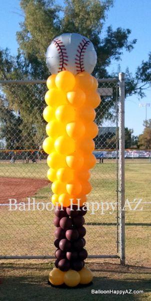 balloon pillars | Traditional Balloon Decor – Columns, Arches, Etc.