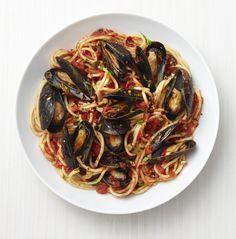 Food Network Magazine - SICILIAN MUSSELS MARINARA
