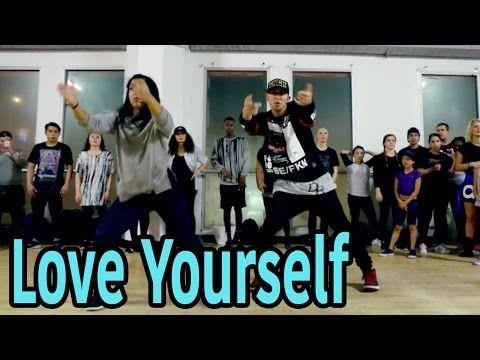 LOVE YOURSELF - Justin Bieber Dance | @MattSteffanina Choreography (Int/Adv Hip Hop Class) - YouTube