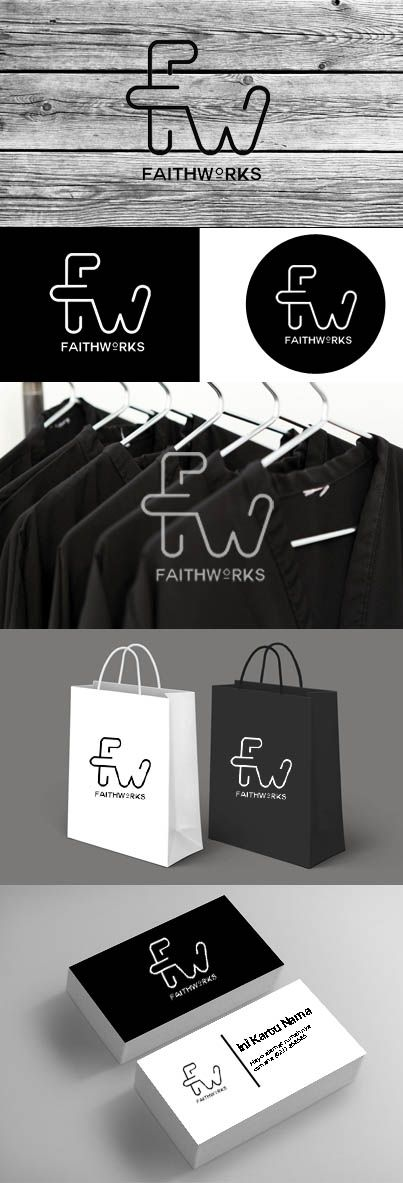 logo branding for clothing line | sorry itu yg bawah udah nggak niat setting logo nya :[