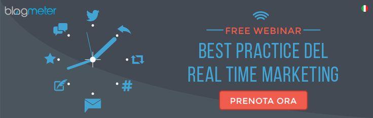 Free webinar: best practice del Real Time Marketing