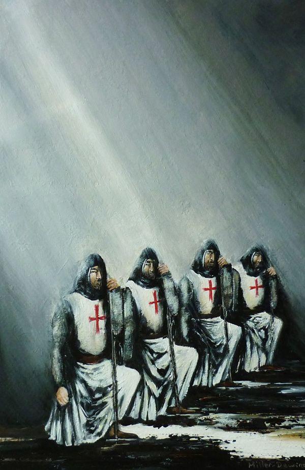 Knights Templar's initiation