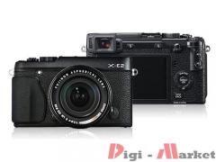 Fujifilm Finepix X-E2 fekete digitális fényképezőgép + 18-55 mm objektív