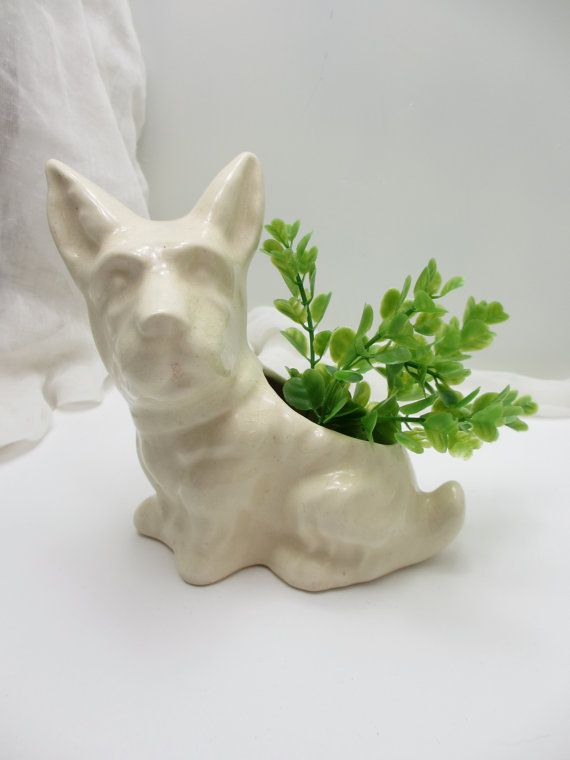 17 Best Images About Scotty Amp Westie Dog Collection On Pinterest Vintage Vase And Planters