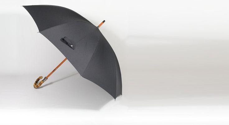 Parapluie avec manche Bambou