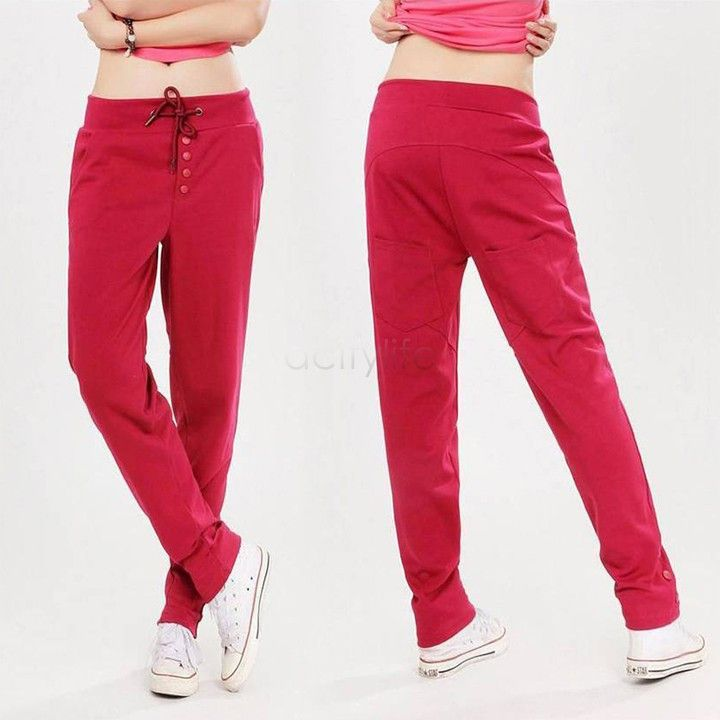 New Fashion Summer Women Casual Harem Pants Female Sports Women's Loose Skinny Long Trousers Gym Joggin Pants