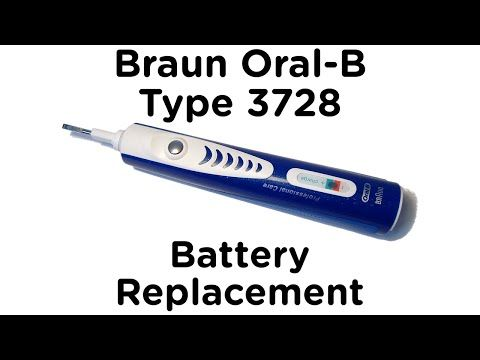 Braun Oral-B Professional Care Type 3728 Battery Replacement - ToothbrushBattery.com