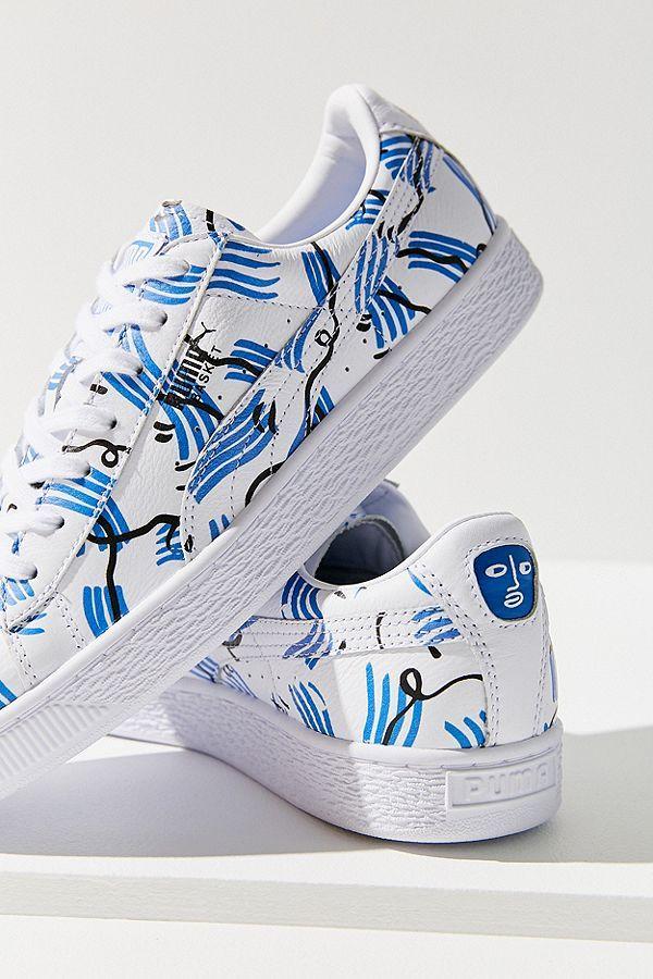 Puma X Shantell Martin Basket Sneaker
