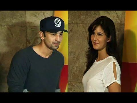 Katrina Kaif & Ranbir Kapoor to watch INSIDE OUT movie.