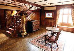 Hall, Bantock House