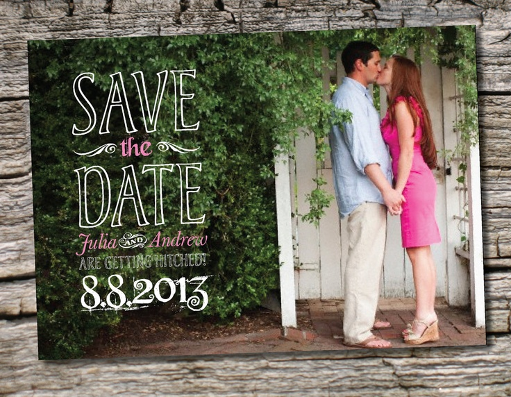 109 best Save the Date Ideas images – Cheap Wedding Save the Date
