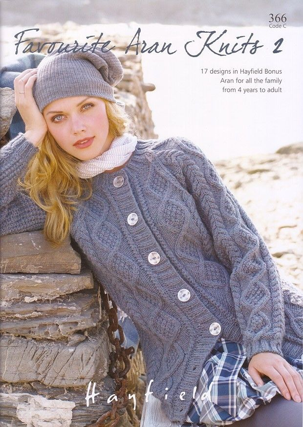 Favourite Aran Knits No. 2 by Sirdar Hayfield - 366