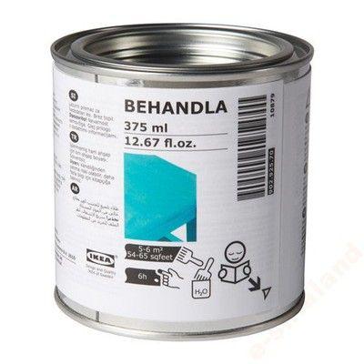 Kup teraz na allegro.pl za 21,99 zł - IKEA * BEHANDLA bejca do drewna kolor turkusowy (6474598749). Allegro.pl - Radość zakupów i bezpieczeństwo dzięki Programowi Ochrony Kupujących!