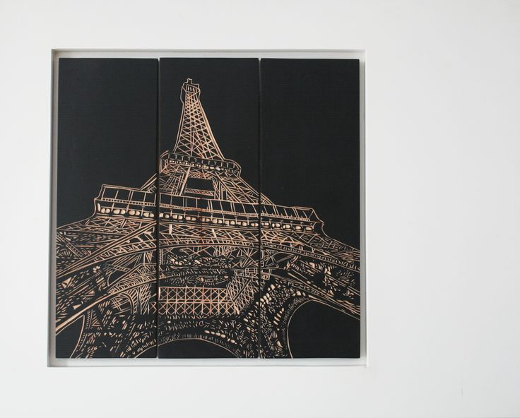Captures an Eiffel Tower in hand-carved  Size: 108x120cm Product Details: wood carved Price: Rp 1.852.500  | www.levardi.com