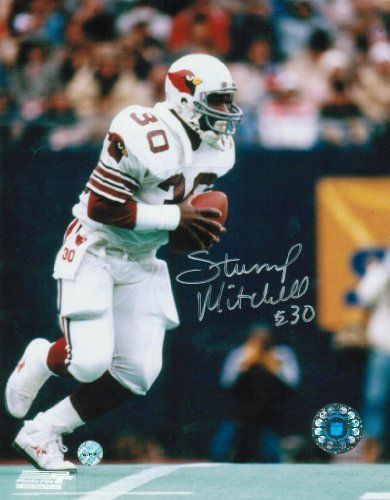 Autographed Stump Mitchell St. Louis Cardinals (Football) 8x10 Photograph by Athletic Promotional Events, Inc.. $23.95. Autographed Stump Mitchell St. Louis Cardinals (Football) 8x10 Photograph. This item comes with a Certificate of Authenticity and matching hologram from Athletic Promotional Events, guaranteeing the authenticity of this hand-signed autograph.
