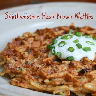 House of Frolic and Mirth: Fry-Day FUN! Hash Brown Waffles --Put your waffle maker to good use for dinner!  @Allrecipes  #AllstarsOreIda #OreIda