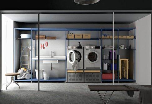 Valcucine Laundry shelf system