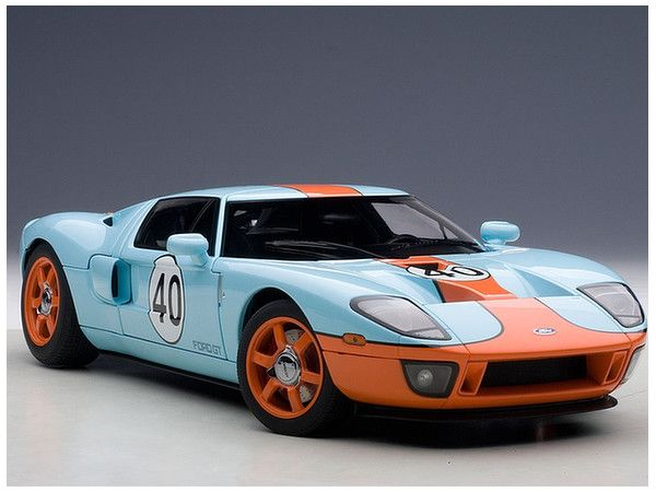 Beau AUTOart Ford GT Diecast Model Car 80513 This Ford GT Diecast Model Car Is  Gulf Colours And Features Working Steering, Suspension, Wheels And Also  Opening ...