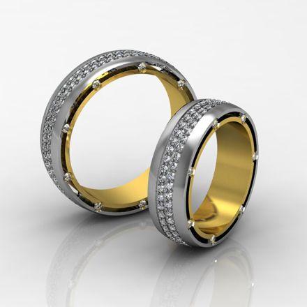 Обручальные кольца (Арт. 024)