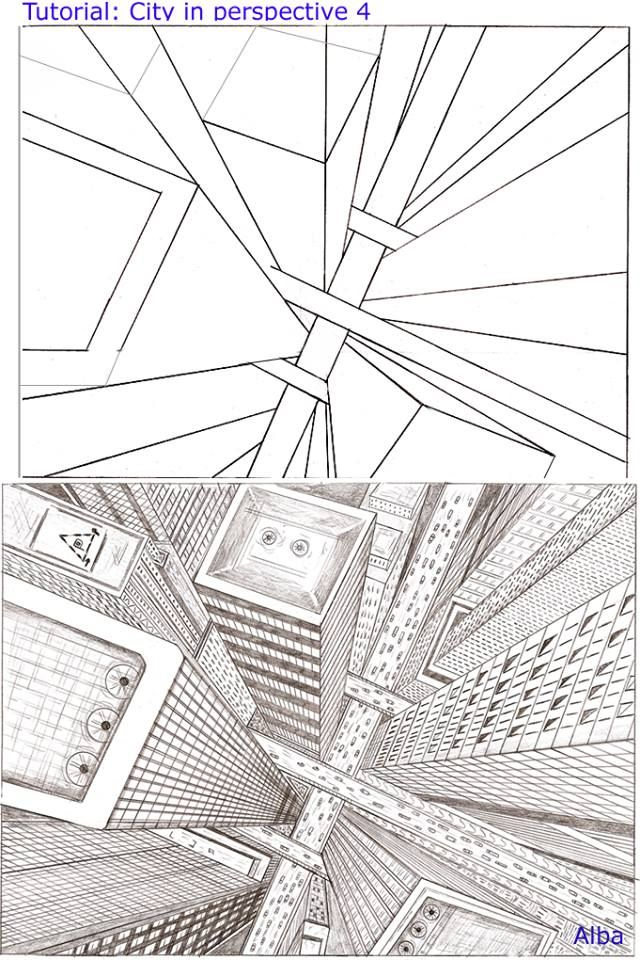 This is a photo of Gorgeous 2 Point Perspective Drawing Tutorial