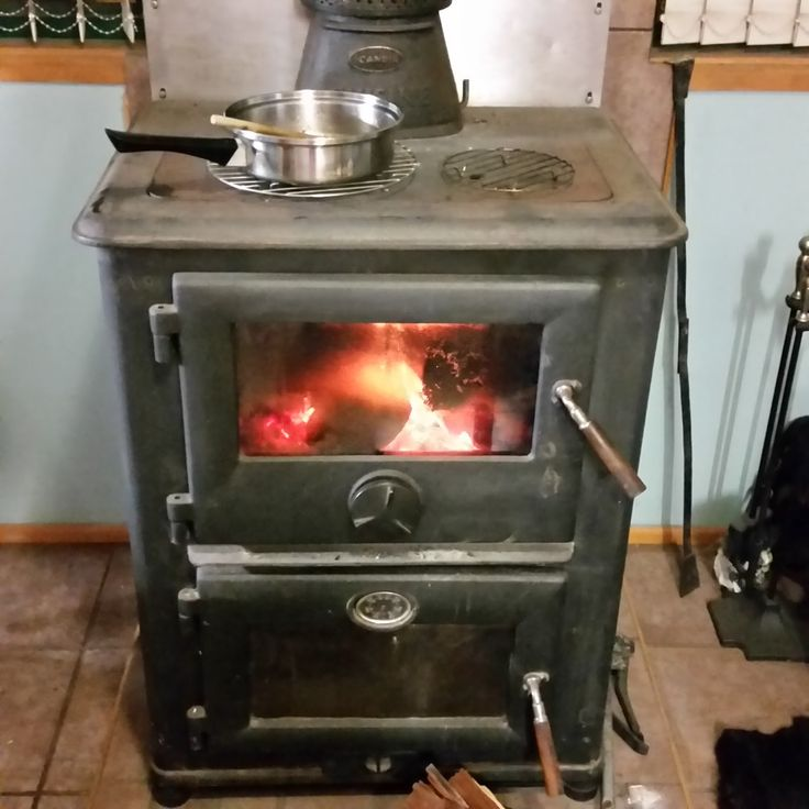 eight acres: how to choose a woodstove for heating and cooking - 661 Best Images About Cabin Fireplaces, Wood Stoves And Fire Pits