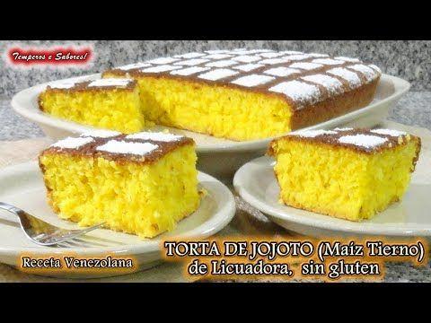 TORTA DE MAIZ TIERNO, JOJOTO, de Licuadora, sin Gluten, receta venezolana - YouTube